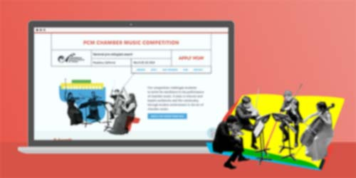 Pasadena Conservatory competition website image