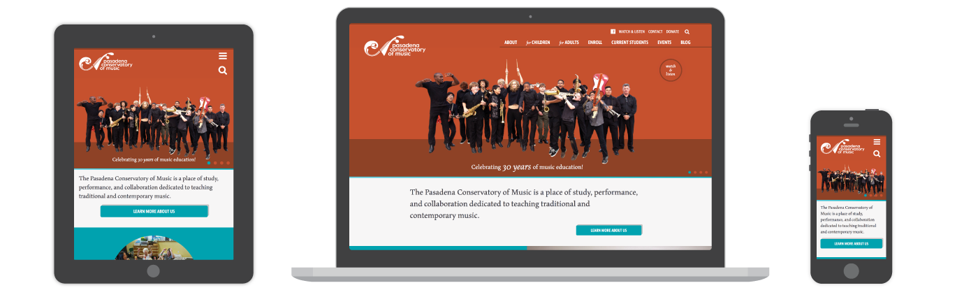 Pasadena Conservatory of Music Website