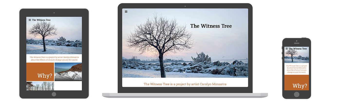 The Witness Tree website